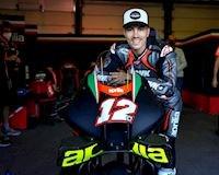 Maverick Vinales chính thức trở lại đường đua motoGP với Aprilia