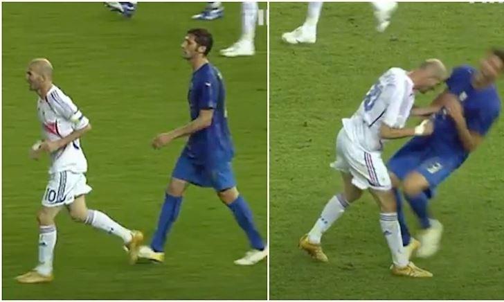 """Bắt chước chiêu """"thiết đầu công"""" của Zidane, cầu thủ số nhọ bị cấm thi đấu 48 trận"""
