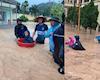 Mưa lũ kéo dài nhiều khu vực tại Quảng Ninh chìm trong biển nước