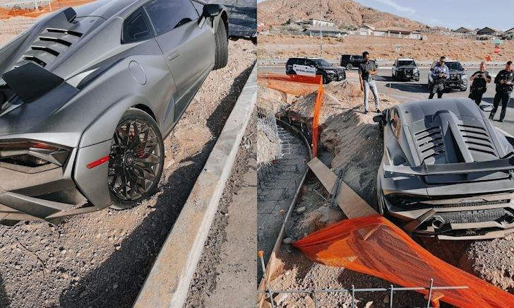 Thuê Lamborghini Huracan STO rồi gây va chạm, khách choáng với số tiền bồi thường