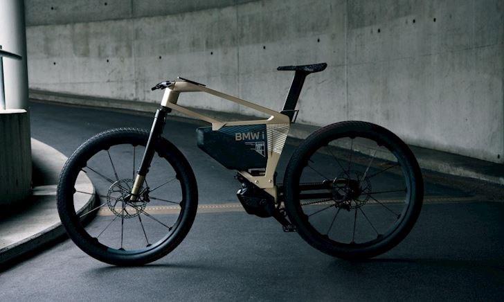 BMW i Vision AMBY, chiếc xe đạp điện sử dụng gắp đơn lần đầu mình thấy