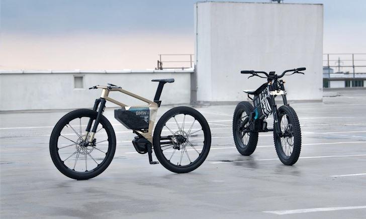 Mẫu xe đạp địa hình BMW i Vision AMBY, thiết kế hiện đại với 3 chế độ lái